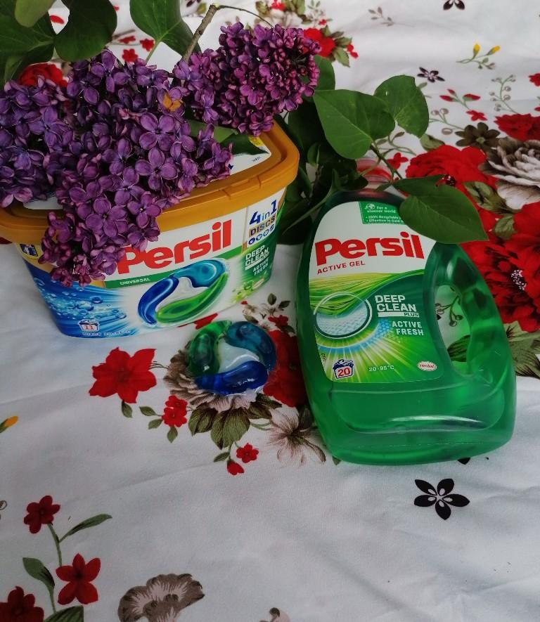 noul Persil Deep Clean Active Fresh